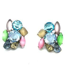 Pair of vintage Rhinestones Earings